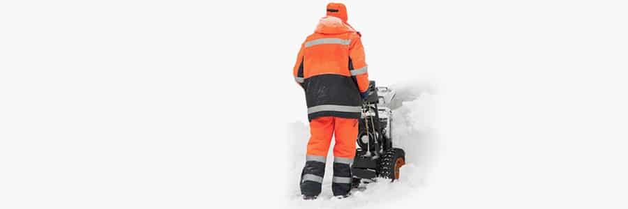 обезледяване и почистване на сняг